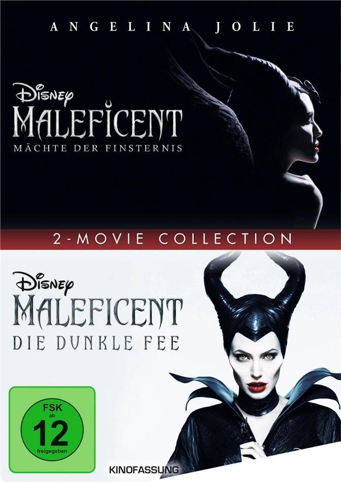 Maleficent - Die dunkle Fee / Maleficent 2 - Mächte der Finsternis - 2-Movie Collection (2 DVDs)