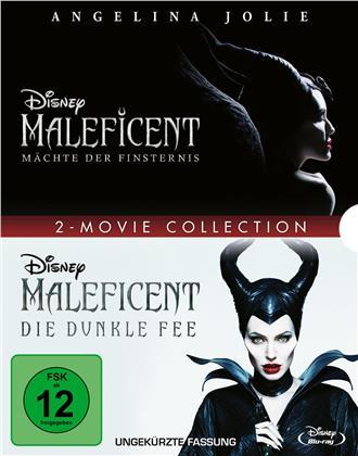 Maleficent - Die dunkle Fee / Maleficent 2 - Mächte der Finsternis - 2-Movie Collection (2 Blu-ray)