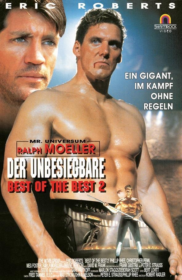 Der Unbesiegbare - Best of the Best 2 (1993) (Grosse Hartbox, Limited Edition, Uncut, Blu-ray + DVD)