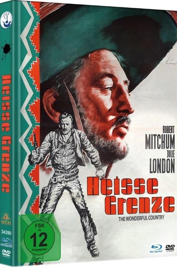 Heisse Grenze - The Wonderful Country (1959) (Mediabook, Blu-ray + DVD)