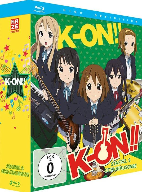 K-On! - Staffel 2 - Gesamtausgabe (3 Blu-rays)