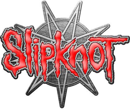 Slipknot Pin Badge - 9 Pointed Star