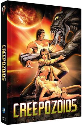 Creepozoids (1987) (Cover A, Edizione Limitata, Mediabook, Uncut, Blu-ray + DVD)
