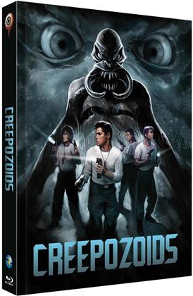 Creepozoids (1987) (Cover C, Limited Edition, Mediabook, Uncut, Blu-ray + DVD)