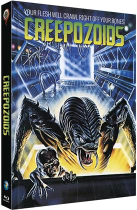 Creepozoids (1987) (Cover B, Limited Edition, Mediabook, Uncut, Blu-ray + DVD)