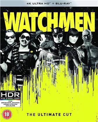 Watchmen (2009) (Ultimate Cut, 4K Ultra HD + Blu-ray)