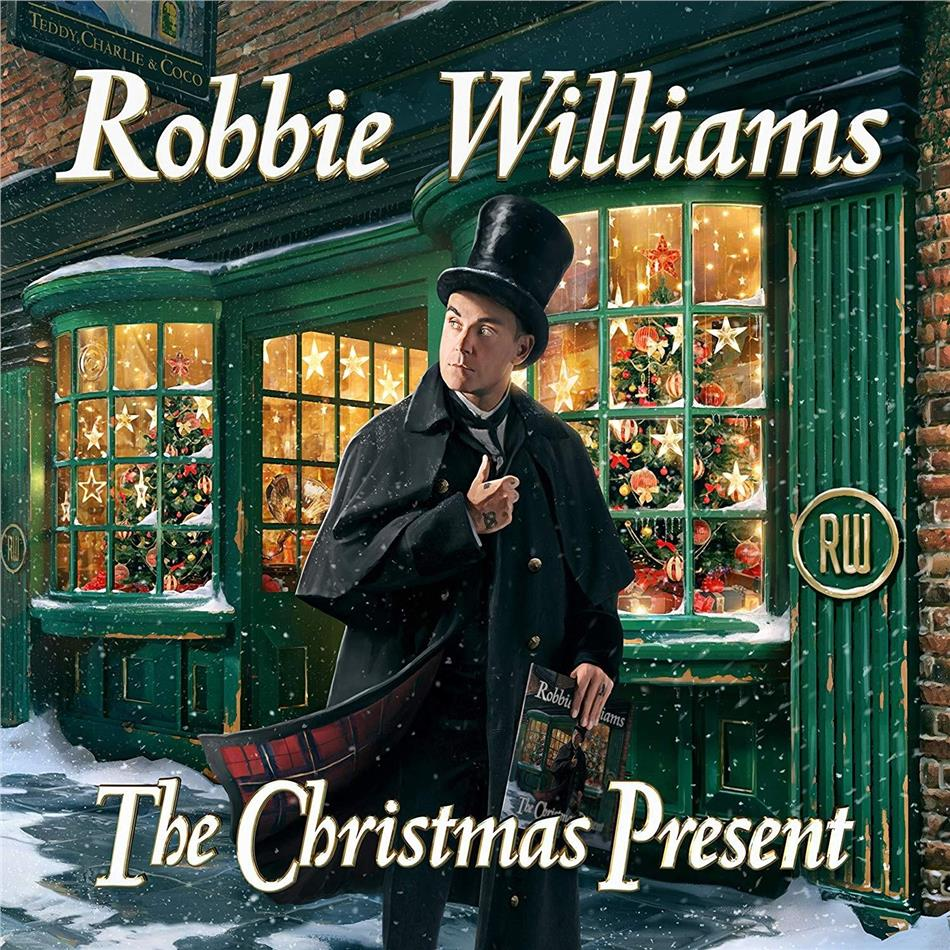 Robbie Williams - The Christmas Present (Jewelcase, 2 CDs)