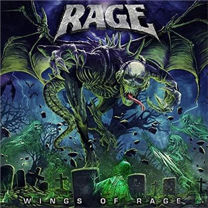 Rage - Wings Of Rage (Boxset, 3 LPs)