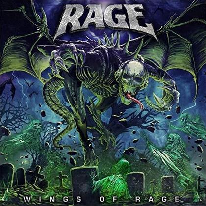 Rage - Wings Of Rage (Digipack)