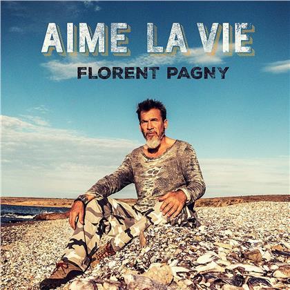 Florent Pagny - Aime La Vie (2019 Reissue, Repack , CD + DVD)