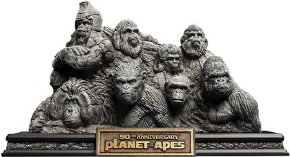 Planet Of The Apes Apes Through The Ages - 50th Anniversary