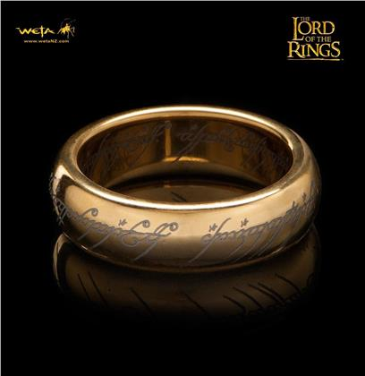 Lord Of The Rings The One Ring (With Runes) - Sz 6 - Grösse Ringgrösse 06