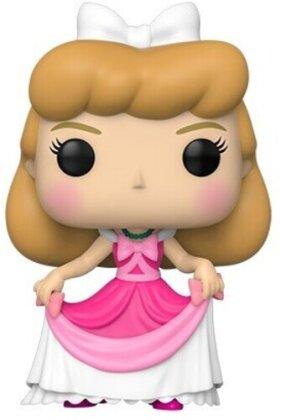 Pop Cinderella in Pink Dress Vinyl Figure