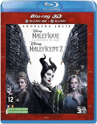 Maléfique 2 - Le pouvoir du mal (2019) (Blu-ray 3D + Blu-ray)