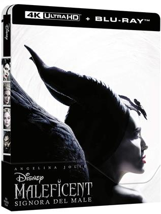 Maleficent 2 - Signora del Male (2019) (Edizione Limitata, Steelbook, 4K Ultra HD + Blu-ray)