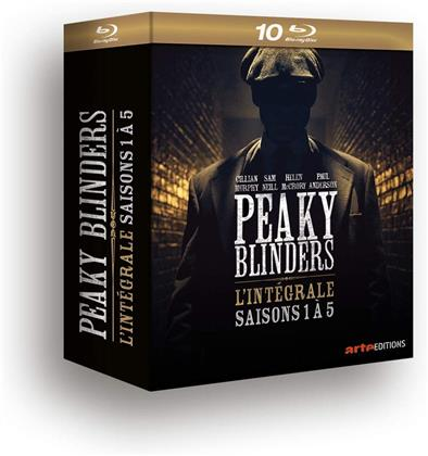 Peaky Blinders - Saisons 1-5 (10 Blu-ray)