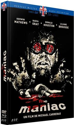 The Maniac (1963) (Limited Edition, Mediabook, Blu-ray + DVD)