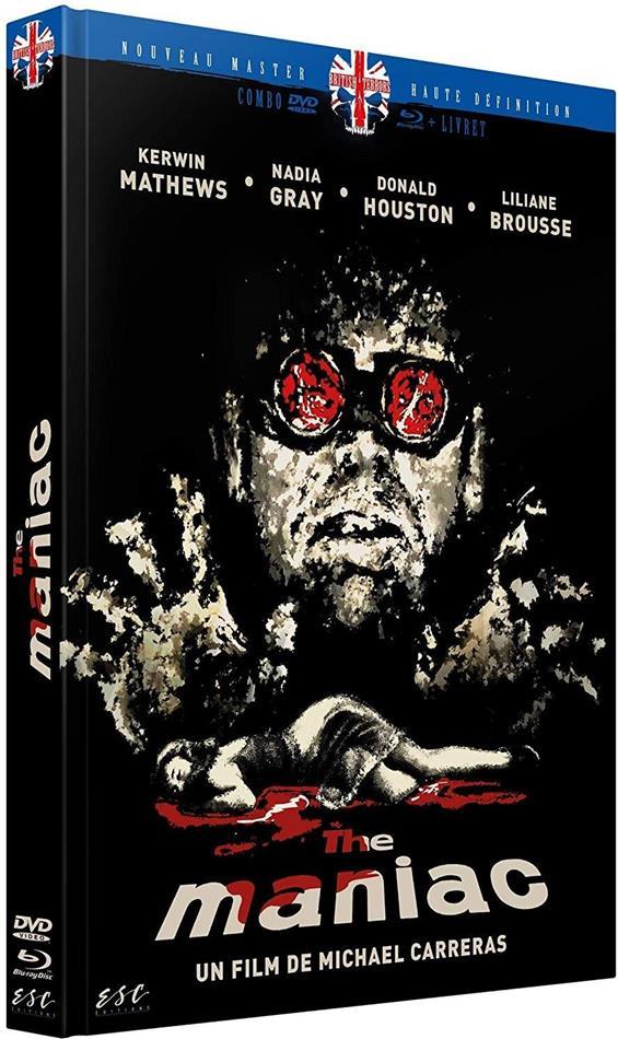 Maniac (1963) (Limited Edition, Mediabook, Blu-ray + DVD)