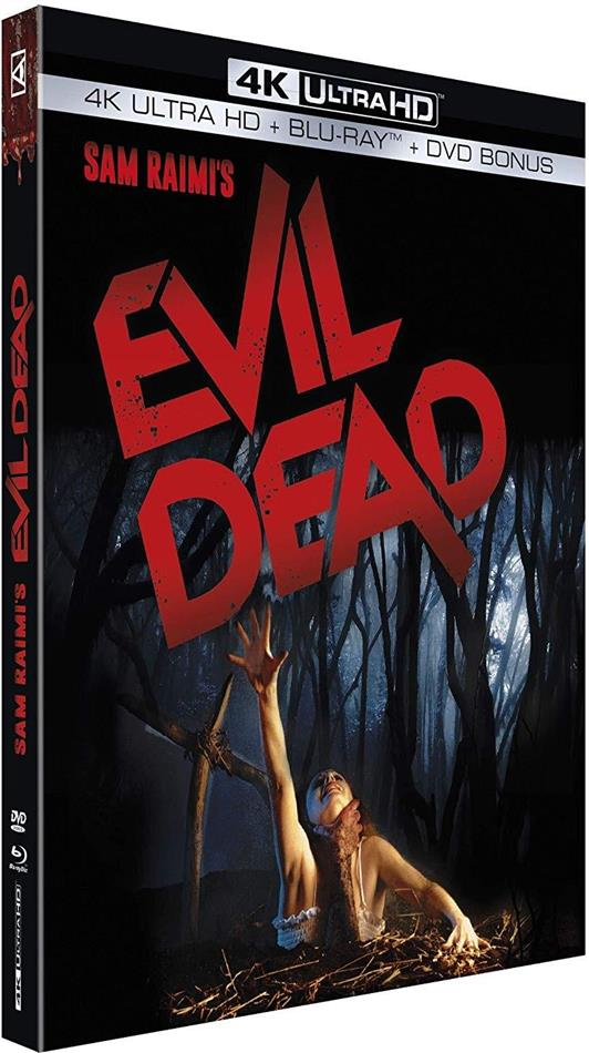 Evil Dead (1981) (4K Ultra HD + Blu-ray + DVD)