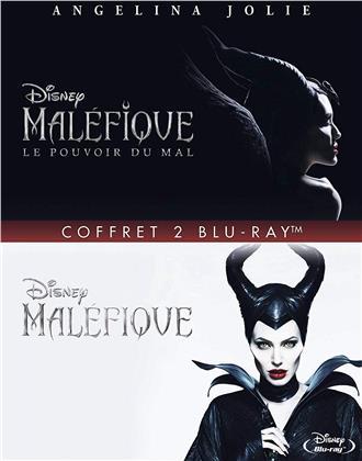 Maléfique / Maléfique 2 - Le pouvoir du mal - 2 Movie Collection (2 Blu-rays)