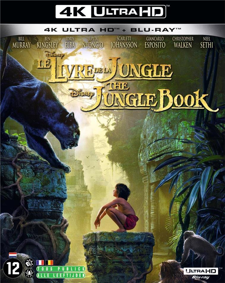 Le Livre de la jungle (2016) (4K Ultra HD + Blu-ray)