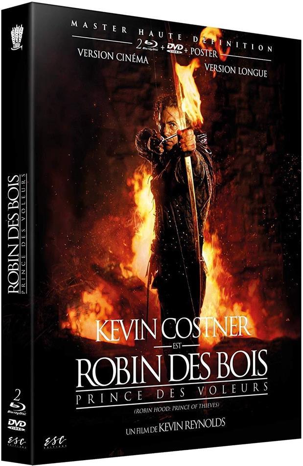 Robin des Bois - Prince des voleurs (1991) (+ Poster, Extended Edition, Kinoversion, 2 Blu-rays + DVD)