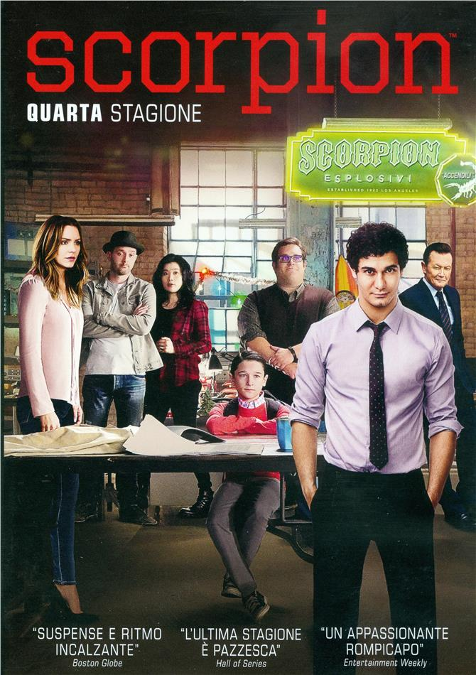 Scorpion - Stagione 4 (6 DVDs)