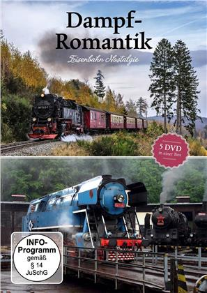 Dampf - Romantik - Eisenbahn Nostalgie (5 DVDs)