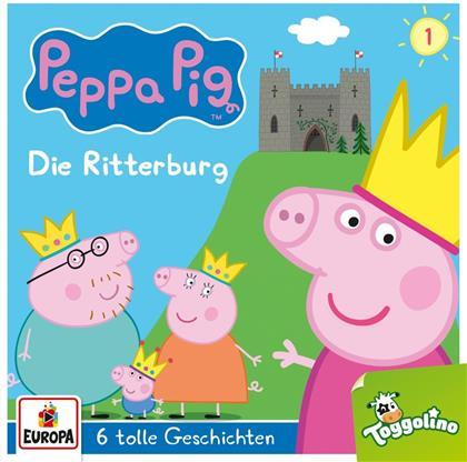 Peppa Pig - 001/Die Ritterburg (und 5 weitere Geschichten)