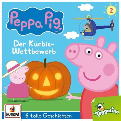 Peppa Pig - 002/Der Kürbis-Wettbewerb (und 5 weitere Geschichten)