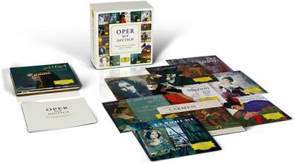 Oper Auf Deutsch (Boxset, 15 CDs)