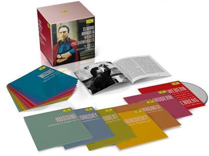 Claudio Abbado & Wiener Philharmoniker - Complete Deutsche Grammophone Recordings (58 CDs)
