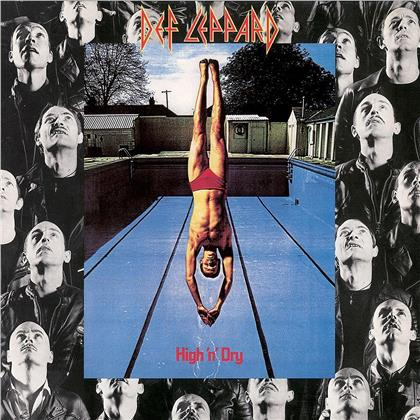 Def Leppard - High'n'dry (Mercury Records, 2020 Reissue, Remastered, LP)