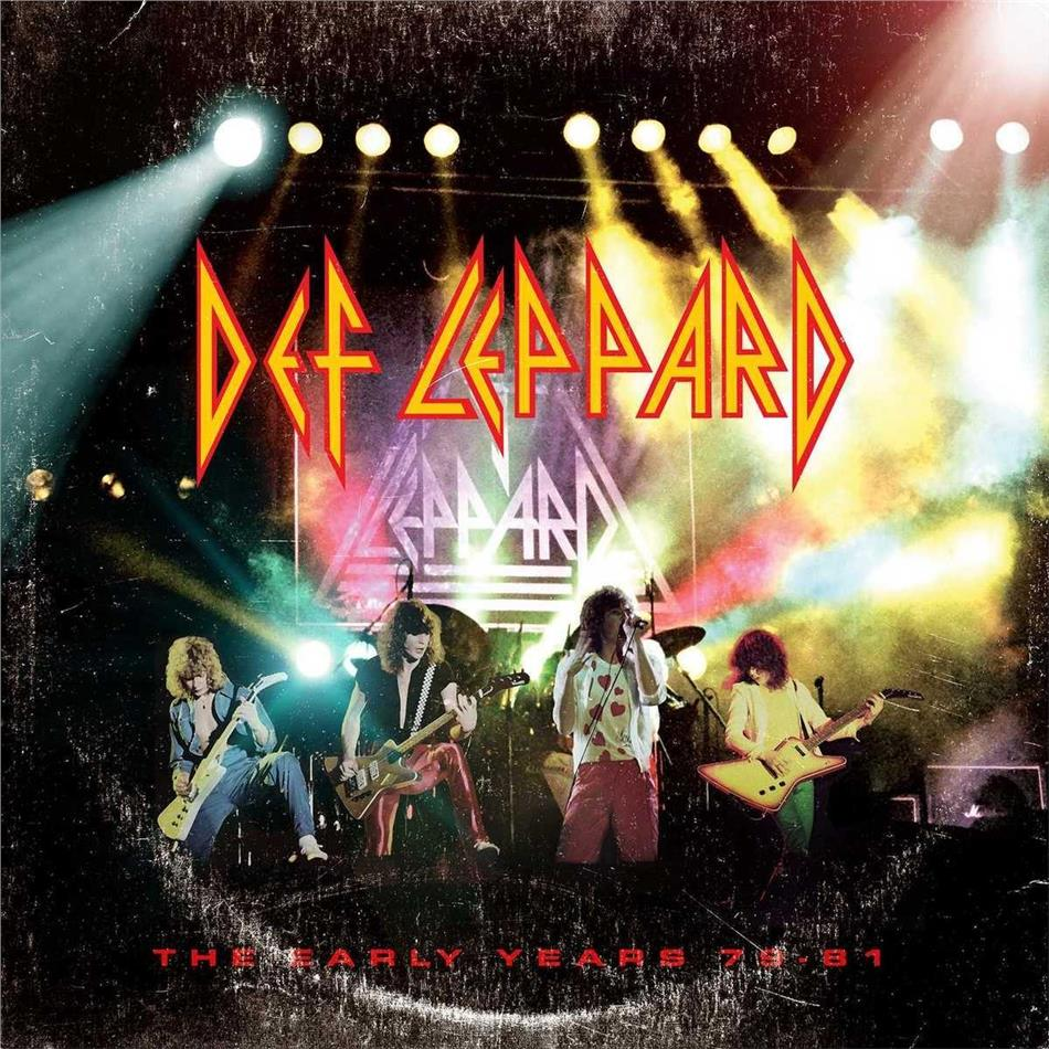 Def Leppard - Early Years (5 CDs)