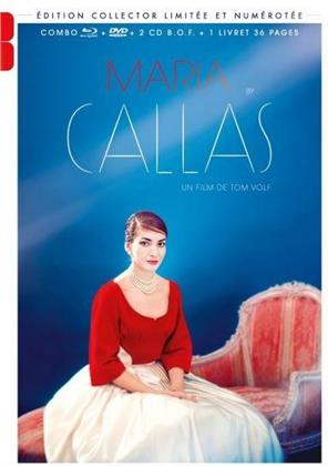 Maria by Callas (2017) (Limited Collector's Edition, Blu-ray + DVD + 2 CDs + Booklet)