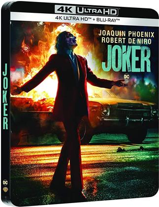 Joker (2019) (Edizione Limitata, Steelbook, 4K Ultra HD + Blu-ray)