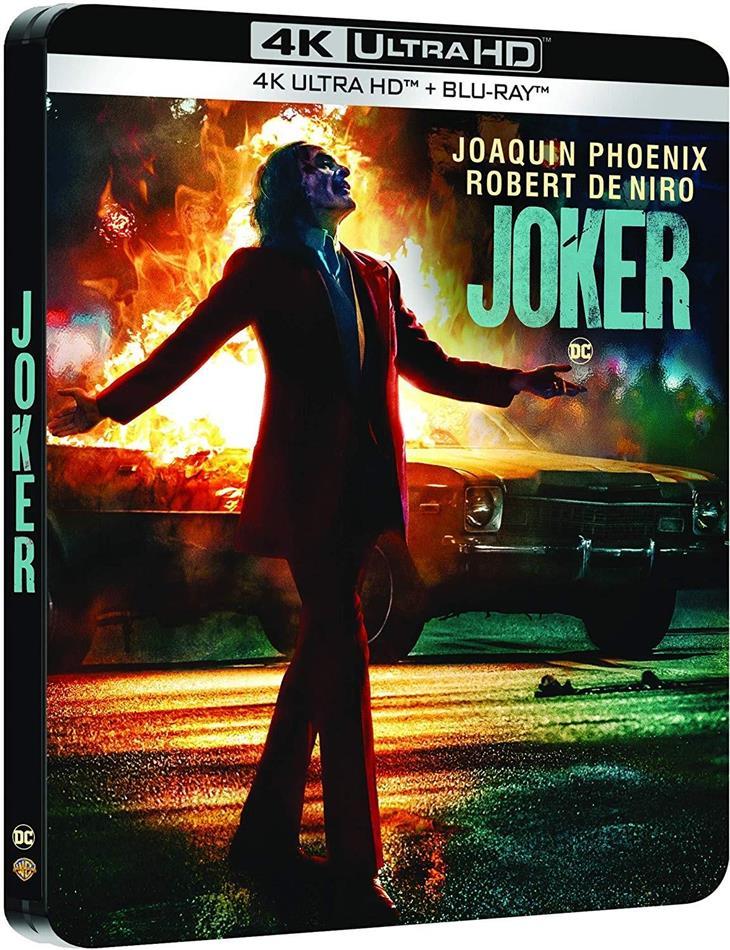 Joker (2019) (Limited Edition, Steelbook, 4K Ultra HD + Blu-ray)
