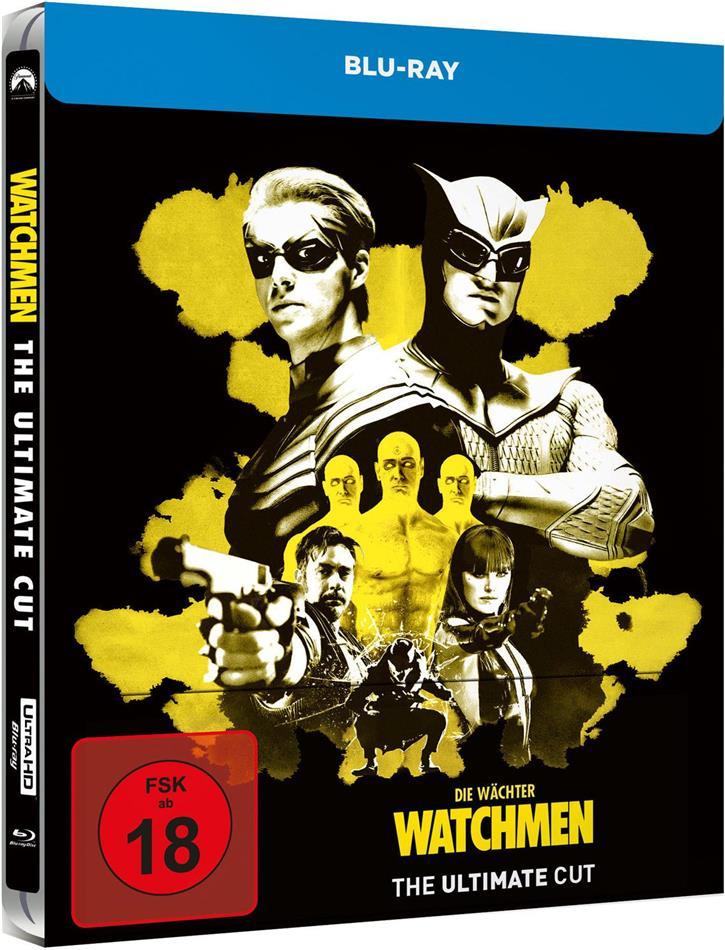 Watchmen (2009) (Ultimate Cut, Limited Edition, Steelbook)