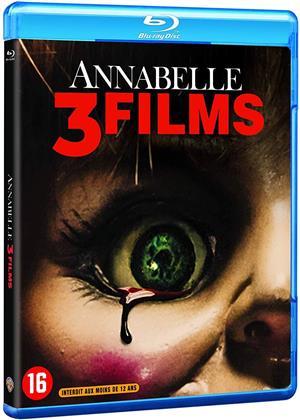 Annabelle 1-3 (3 Blu-rays)