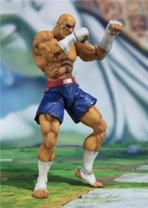 Tamashii Nations - Street Fighter V: Sagat, Bandai S.H.Figuarts