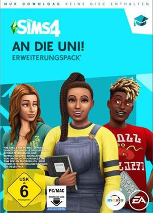 Die Sims 4 Addon (Code in a Box) - An die Universität (German Edition)