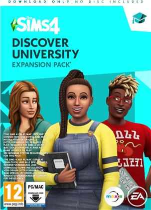 The Sims 4 Addon (Code in a Box) - Discover University