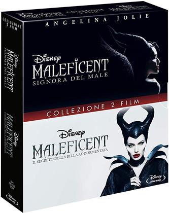 Maleficent (2014) / Maleficent 2 - Signora del Male (2019) - Collezione 2 Film (2 Blu-ray)