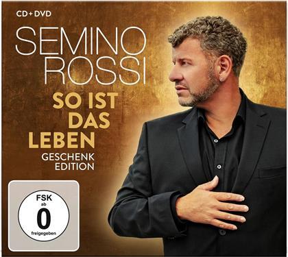 Semino Rossi - So ist das Leben (Geschenk Edition, CD + DVD)