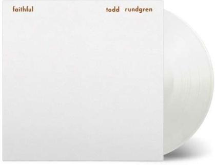 Todd Rundgren - Faithful (2019 Reissue, Music On Vinyl, White Vinyl, LP)