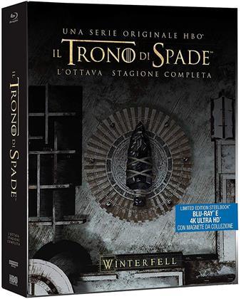 Il Trono di Spade - Stagione 8 (inkl. Magnet Siegel, Limited Edition, Steelbook, 3 4K Ultra HDs + 3 Blu-rays)
