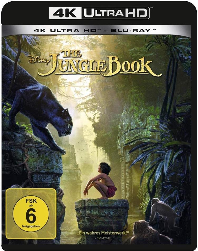 The Jungle Book (2016) (4K Ultra HD + Blu-ray)