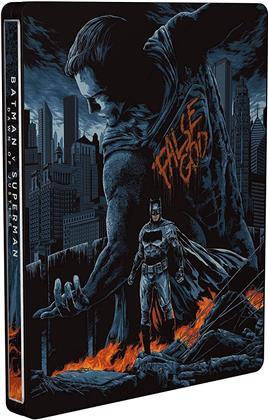 Batman v Superman - Dawn of Justice (2016) (Mondo, Steelbook, Ultimate Edition, 2 Blu-rays)