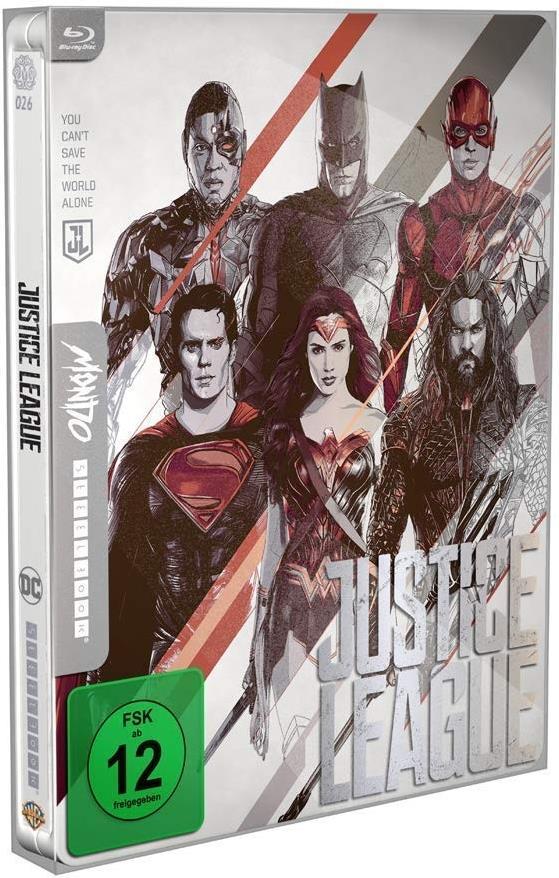 Justice League (2017) (Mondo, Steelbook)