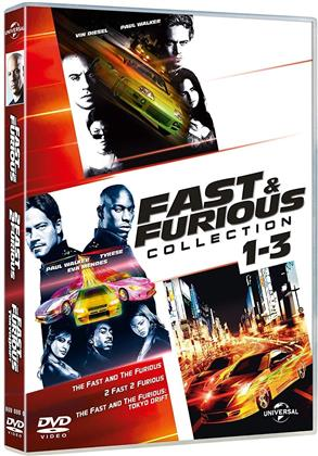 Fast & Furious 1-3 - (Tuning Collection) (3 DVD)